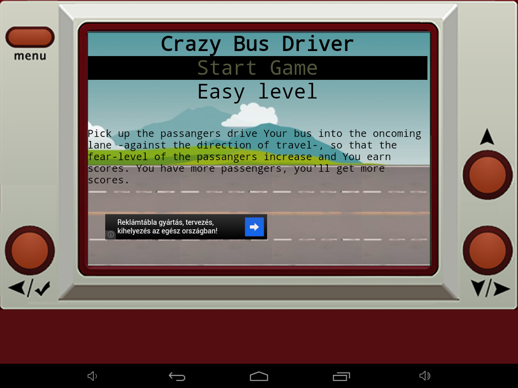 Crazy Bus Driver- screenshot