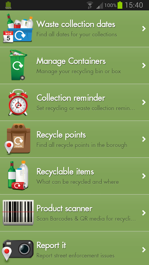 Recycle for Ashford- screenshot