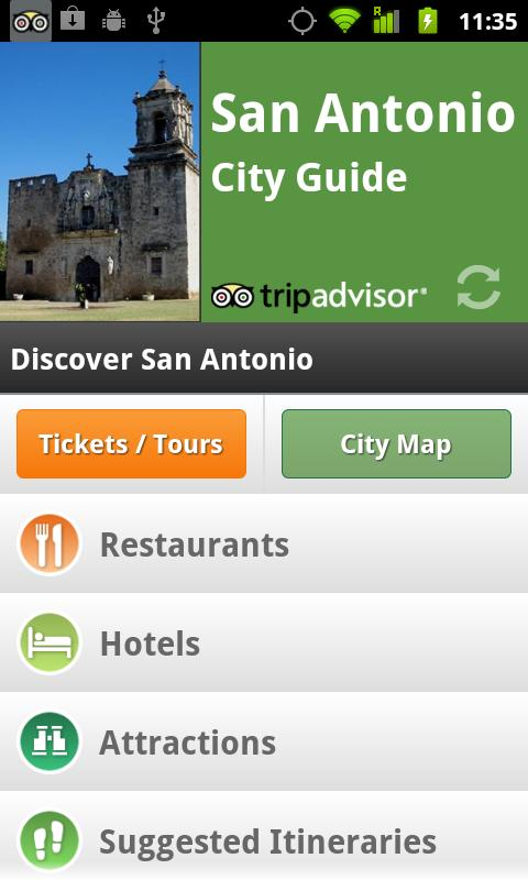 San Antonio City Guide screenshot #1