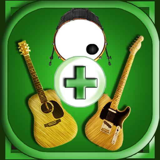 ギターを演奏 Guitar with Drum 音樂 App LOGO-硬是要APP