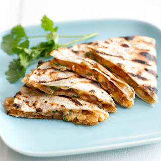 Grilled Barbeque Onion and Smoked Gouda Quesadillas