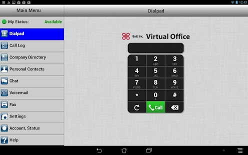 8x8 Virtual Office - screenshot thumbnail