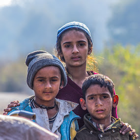 Children by Gaurav Madhopuri - Novices Only Portraits & People ( child, gujjar, canon 600d, gaurav, nomads )