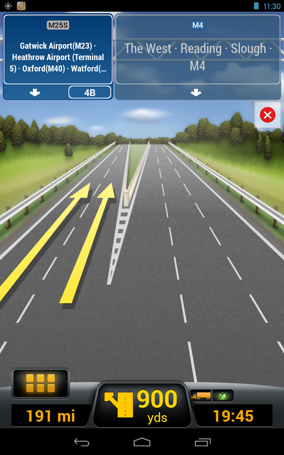 CoPilot Truck Italia - screenshot
