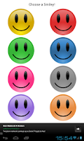 Screenshot of Smiley Battery Pro Widget