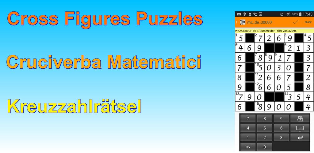 Math Crosswords Puzzles 2.1.0 Apk Download - com.cruciappnum APK free