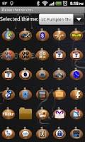 Screenshot of LC Pumpkin Theme Go/Nova/Apex