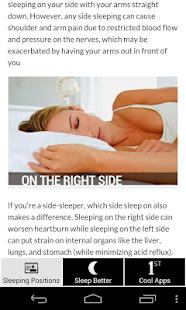 Sleep Positions Health Effects