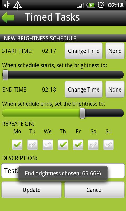 Timed Tasks Free - screenshot