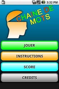 Chaine de Mots Lite - screenshot thumbnail