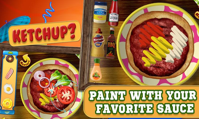 Burger Maker Crazy Chef- screenshot