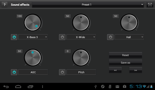 jetAudio Music Player+EQ- screenshot thumbnail