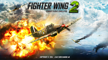 Screenshot of FighterWing 2 Flight Simulator