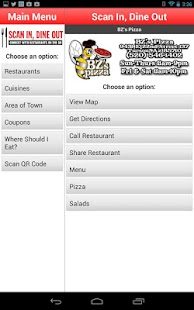 Scan In Dine Out - screenshot thumbnail
