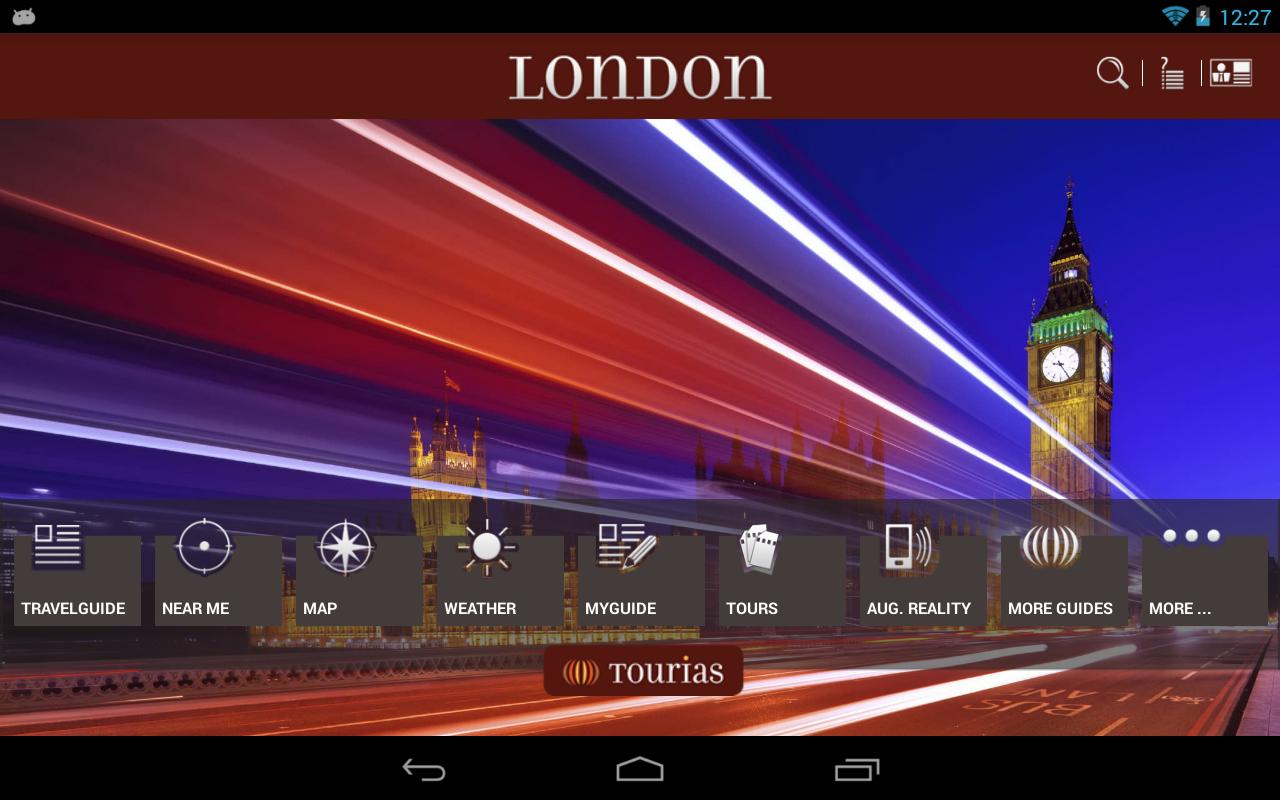 London Travel Guide - Tourias - screenshot