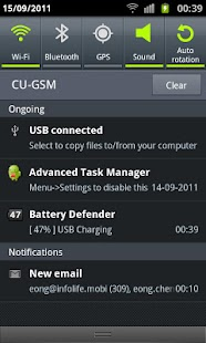 Battery Defender - 1 Tap Saver - screenshot thumbnail