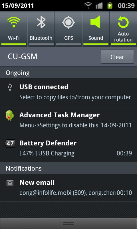 Battery Defender - 1 Tap Saver - screenshot