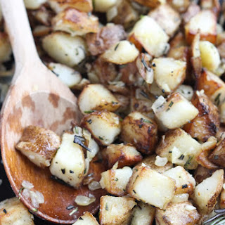 Rosemary Garlic Potatoes.