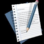 HandwritingList