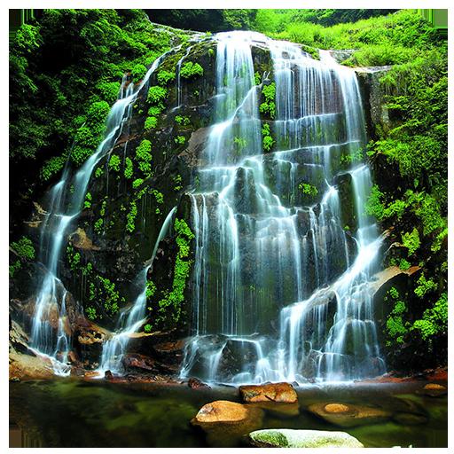 自然風景:滝 休閒 App LOGO-APP開箱王