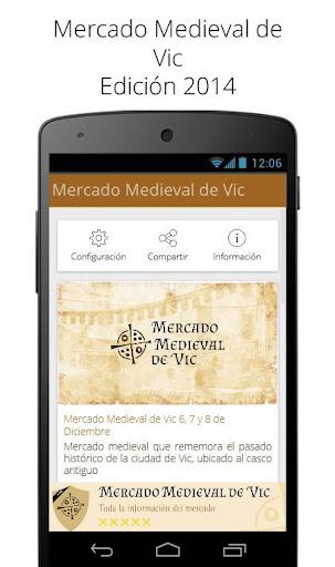 Mercado Medieval de Vic 2014