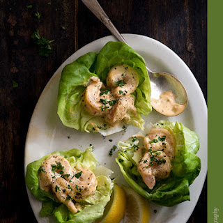 Shrimp Remoulade Lettuce Cups