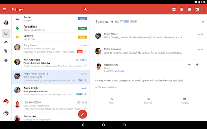 Gmail APK screenshot thumbnail 5