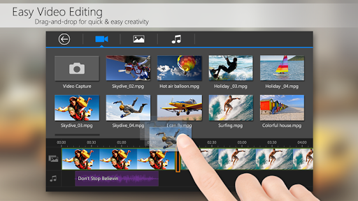 PowerDirector Video Editor App game (apk) free download for Android/PC/Windows screenshot