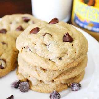 Chocolate Chip Sunflower Seed Butter Cookies.