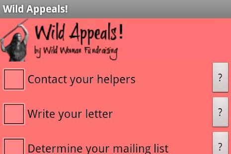 Wild Appeals! Fundraising App - screenshot thumbnail