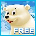 Polar Bear Cub Free for kids icon