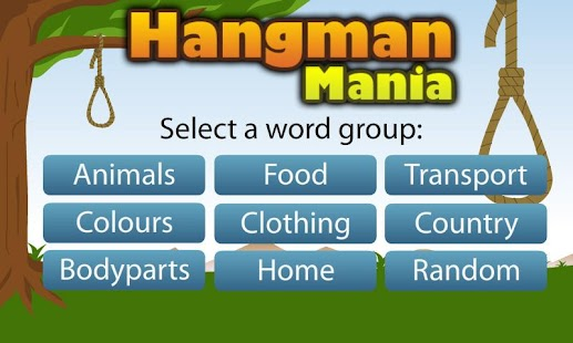 Hangman Mania- screenshot thumbnail