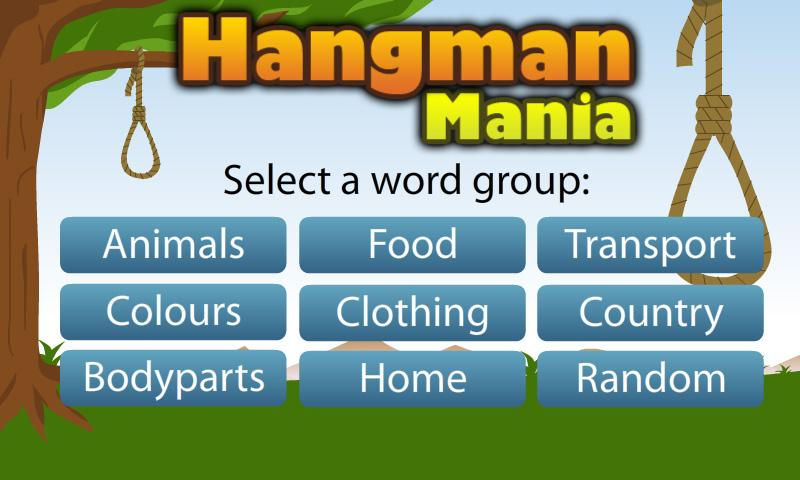 Hangman Mania- screenshot