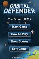Screenshot of Orbital Defender Full