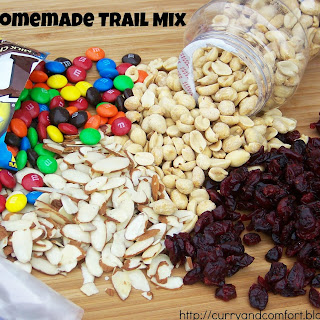 Homemade Energy Trail Mix.