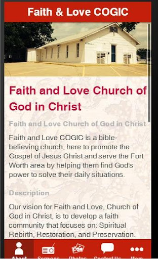 Faith and Love COGIC App