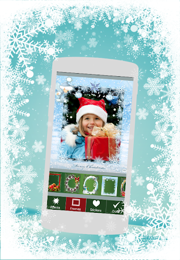 Winter Photo Frame Effect