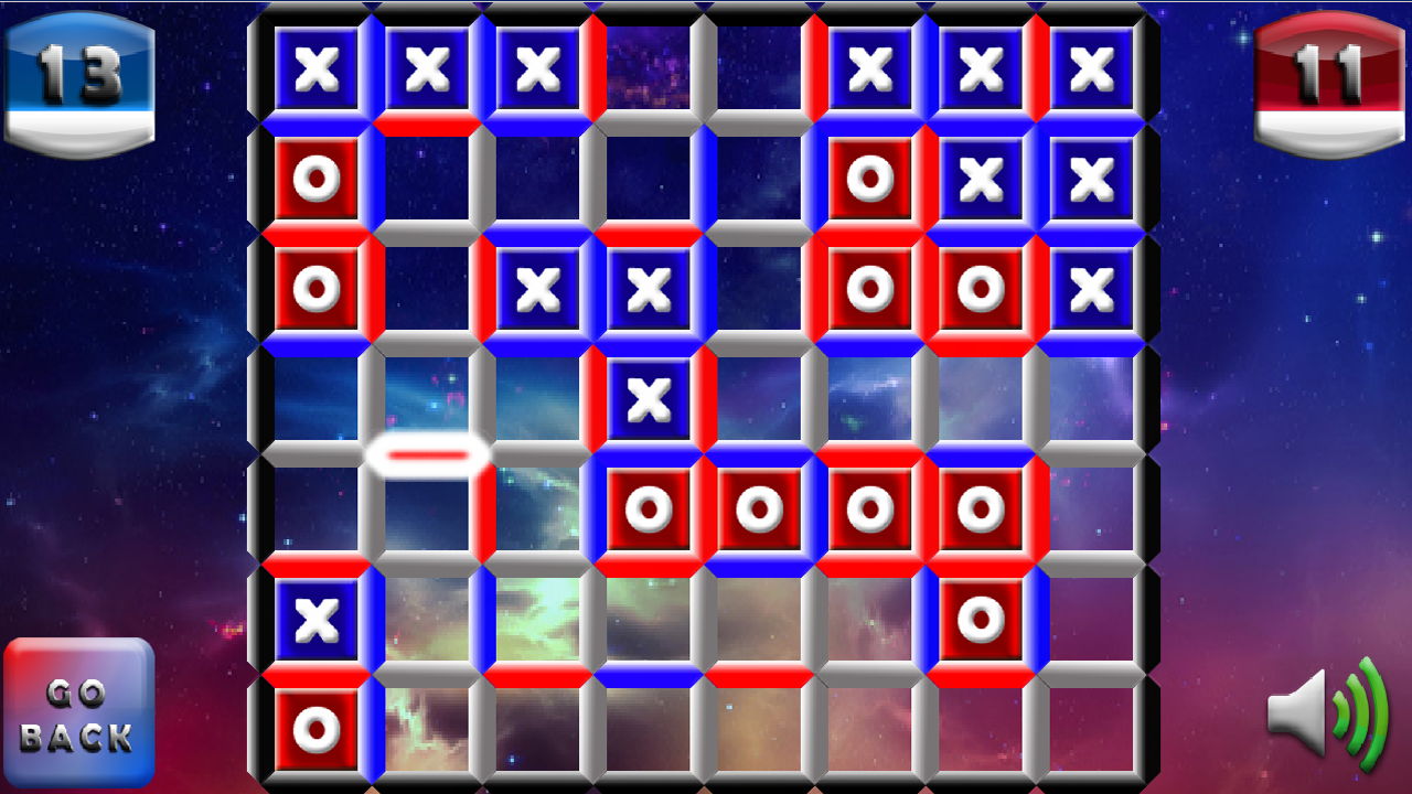 IOX Dots and Boxes- screenshot