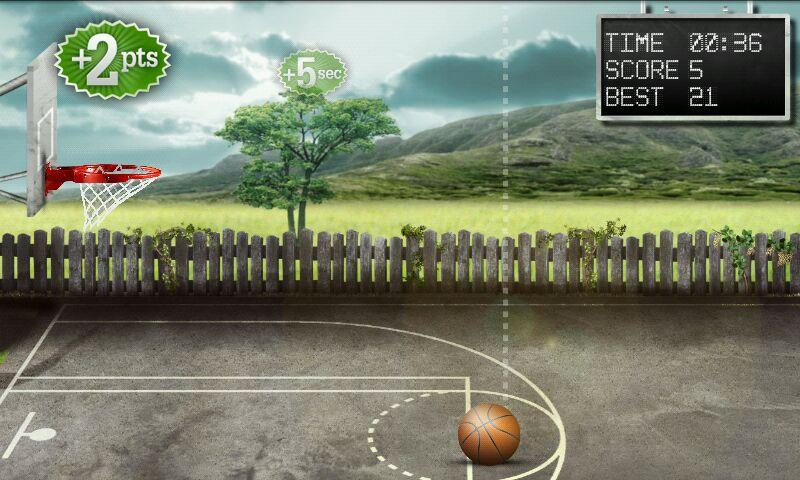 Basketball Free Throws - screenshot