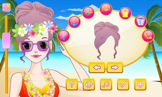 Cute Hula Dancer Dress Up - screenshot thumbnail