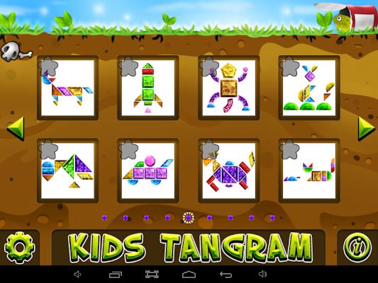 Tangram Puzzle HD Free - screenshot