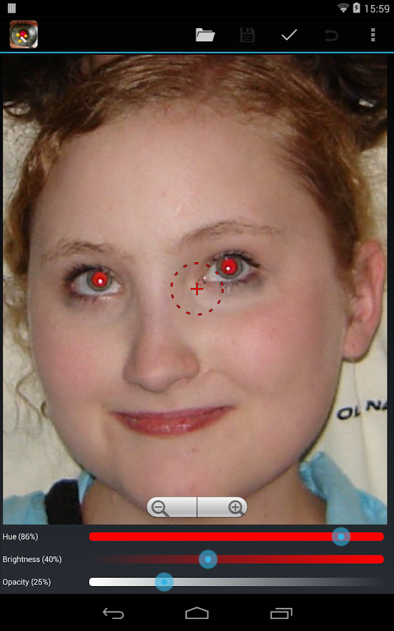Red Eye Removal (Free) - screenshot