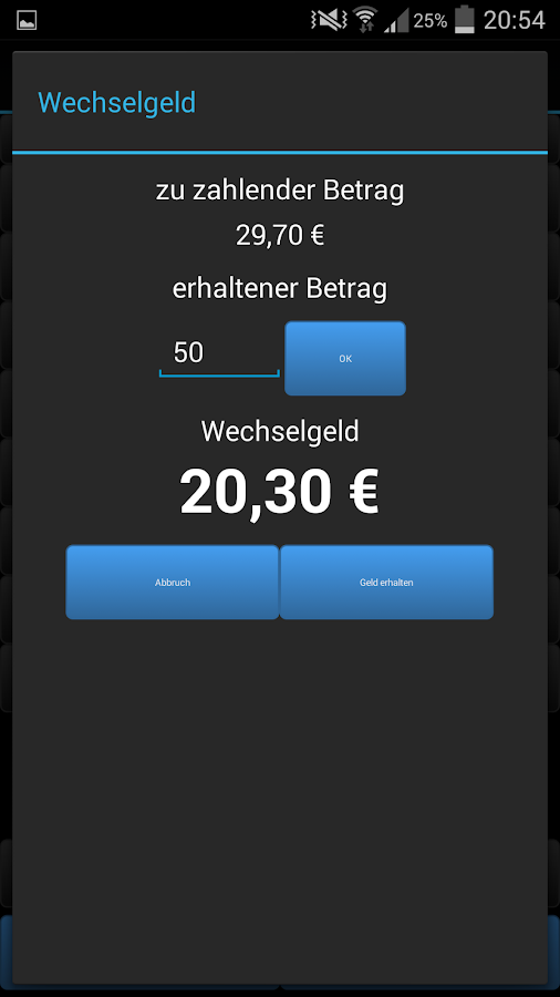 Cash Desk Pro - screenshot