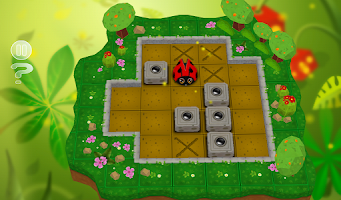 Screenshot of Sokoban Garden 3D
