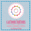 CartoonButton GOLauncher Theme