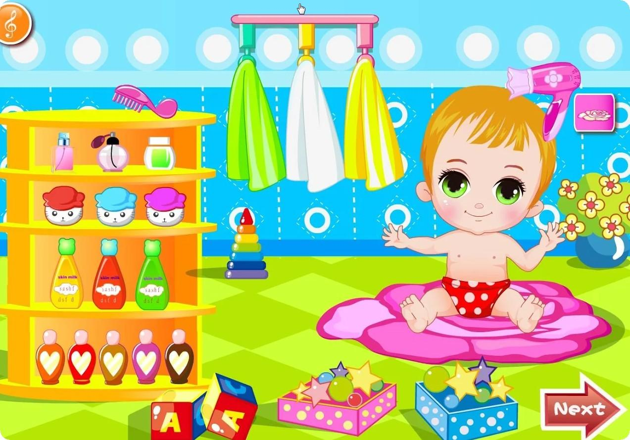 Happy-Baby-Bathing-Games 8