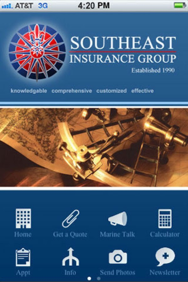 Southeast Insurance Group- screenshot