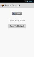 Screenshot of Caffeine Tracker Lite