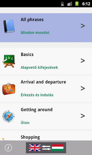 Hungarian Talking Phrasebook