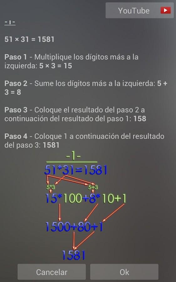 Trucos de Matemáticas - screenshot
